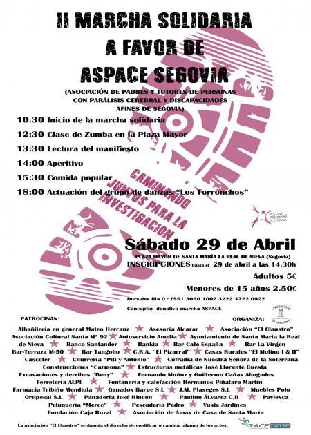 II Marcha Solidaria a favor de Aspace