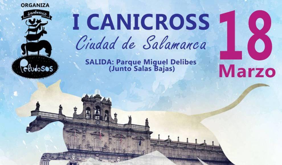 PeludoSOS organiza el I Canicross Ciudad de Salamanca