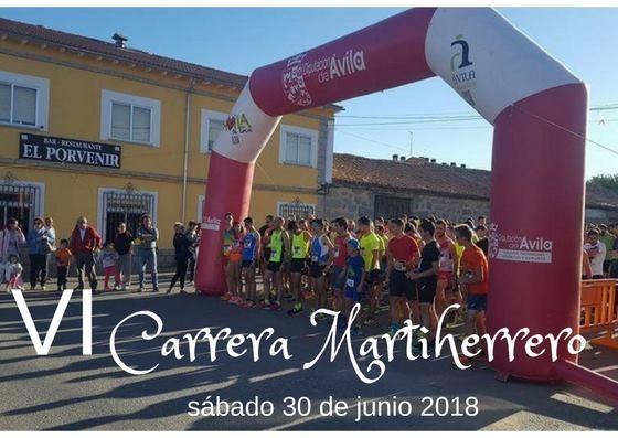 Martiherrero organiza el 30 de junio la sexta edición de su carrera popular