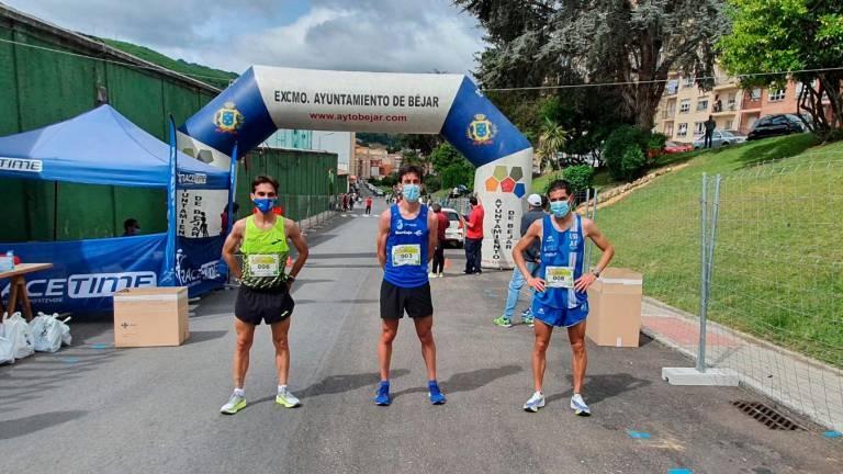Dani Sanz y Verónica Sánchez vencen en la Media Maratón de Béjar