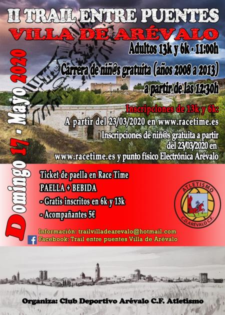 II Trail Entre Puentes Villa de Arevalo