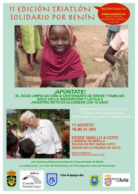 II Edición Triatlón Solidario por Benín