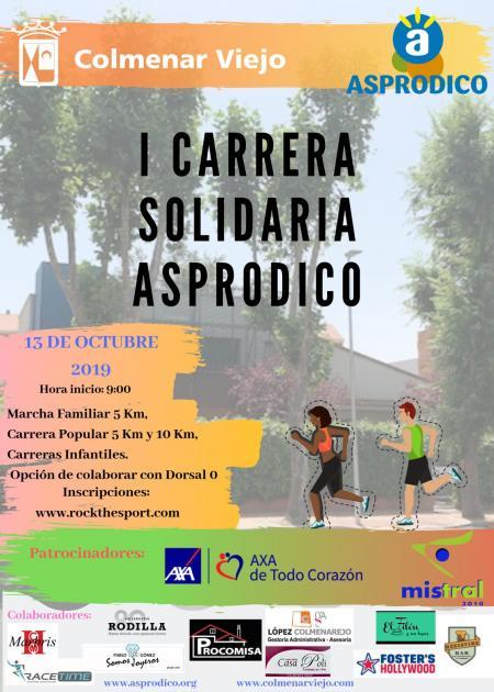 I Carrera Solidaria Asprodico
