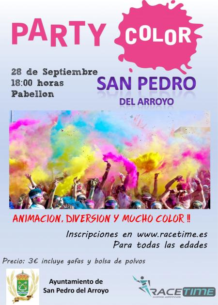 Party Color San Pedro