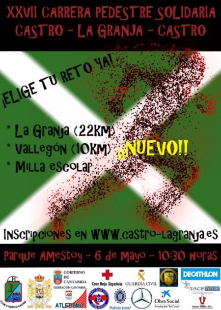 XXVII Carrera Pedestre Solidaria Castro - La Granja