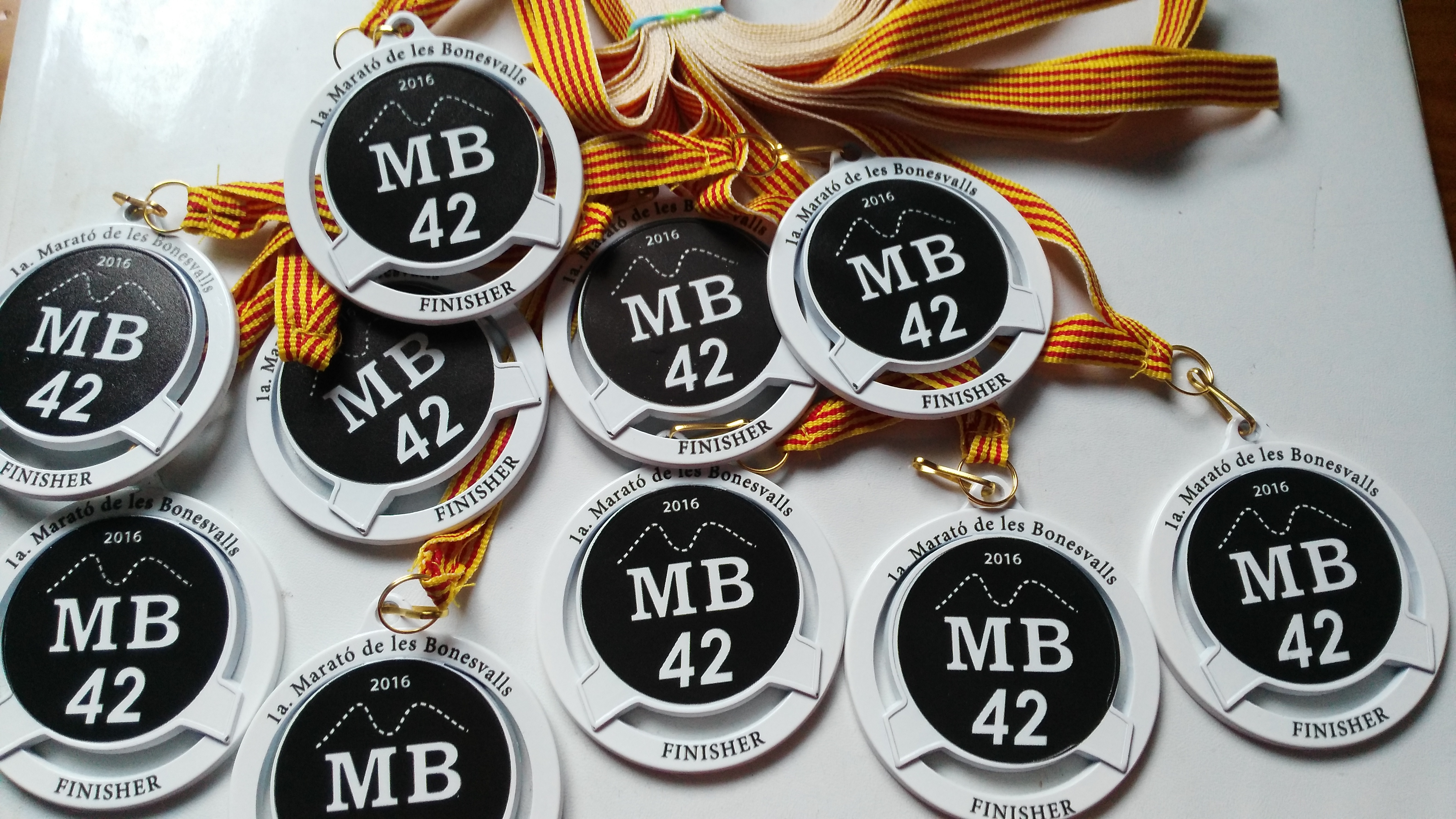 Medallas Finisher