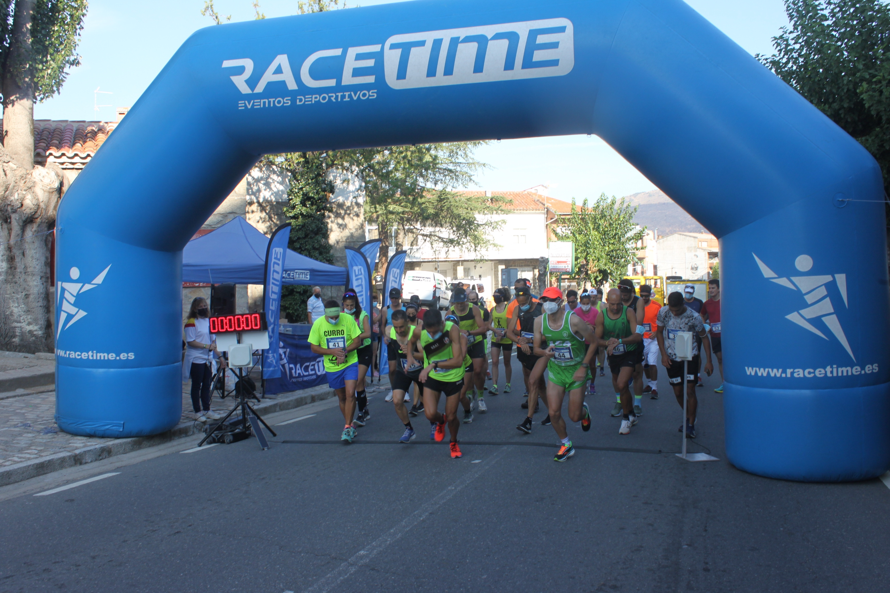 Antonio Perea y Myriam Montes, los más fuertes en la Media Maratón El Castañar