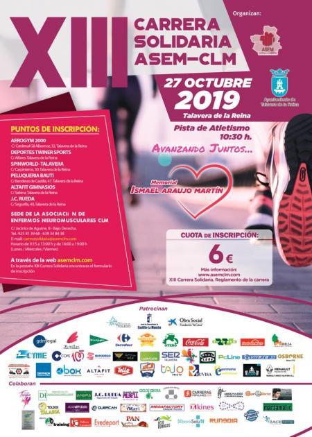 XII Carrera Solidaria ASEM - CLM