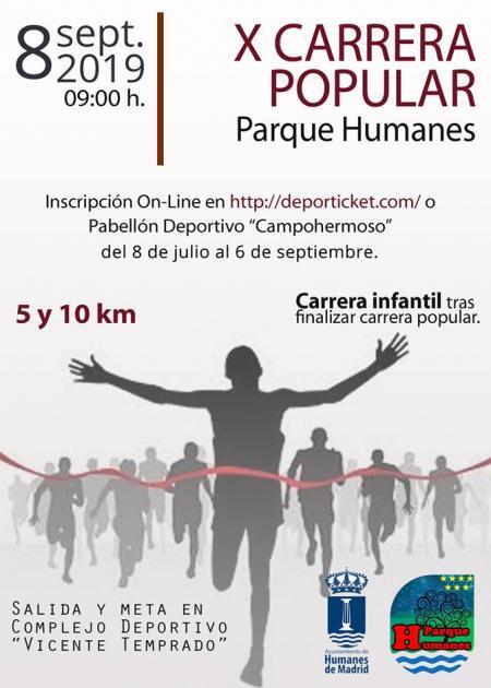 X Carrera Popular Parque Humanes