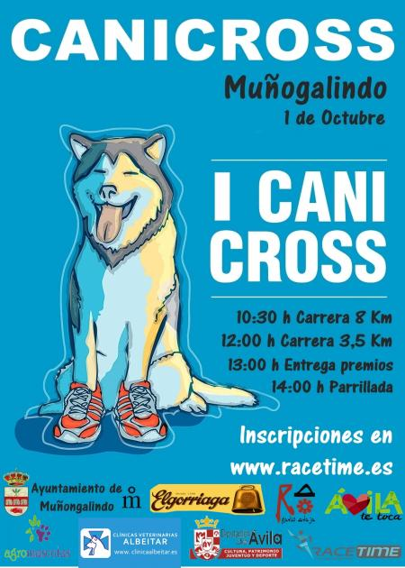 I Canicross Muñogalindo