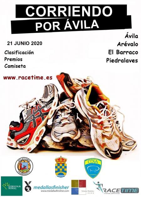 Corriendo por Ávila