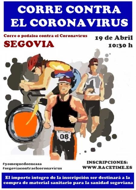 Corre Contra el Coronavirus Segovia