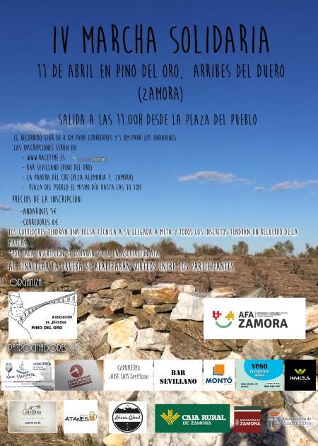 IV Carrera-Marcha Solidaria Pino de Oro