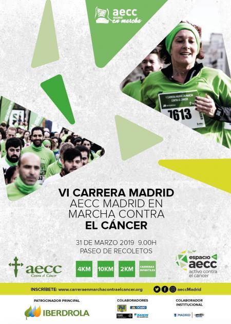 VI Carrera En Marcha contra el Cáncer Madrid