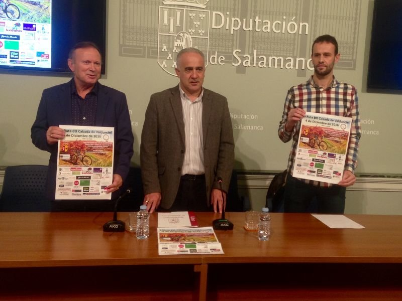 Calzada celebra su primera ruta BTT