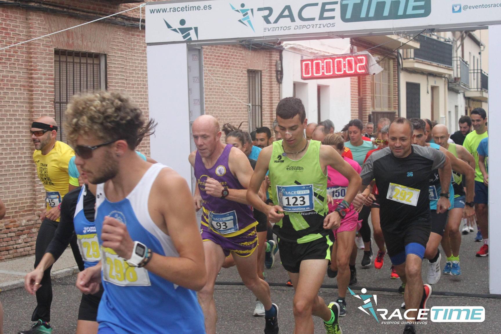 Nacho García y Juan Encinar vencen en la I Carrera Popular Sanjuaniega