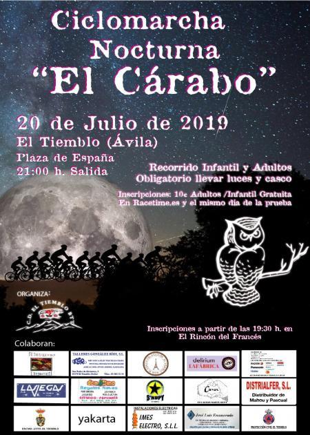 Ciclomarcha Nocturna El Cárabo