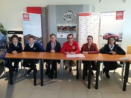 La carrera del Colegio Santísimo Rosario en favor de Cruz Roja presenta su sexta edición