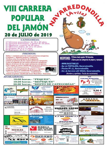VIII Carrera Popular del Jamón