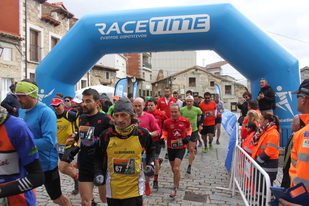 Sergio de la Vía y Sonsoles Perez vencen en el Trail Run 10K