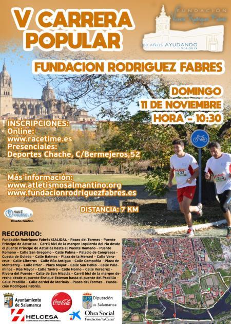 V Carrera Popular Fundacion Rodriguez Fabres