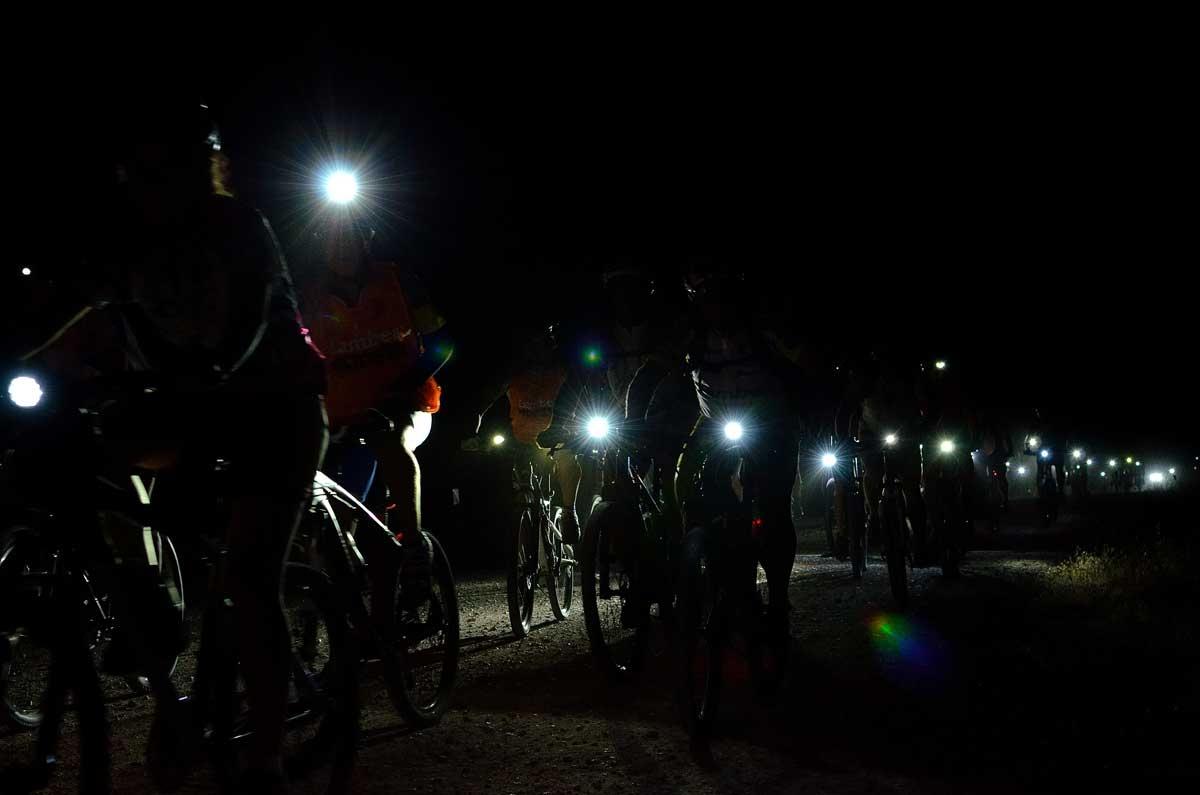 Crespos celebra su Marcha BTT Nocturna