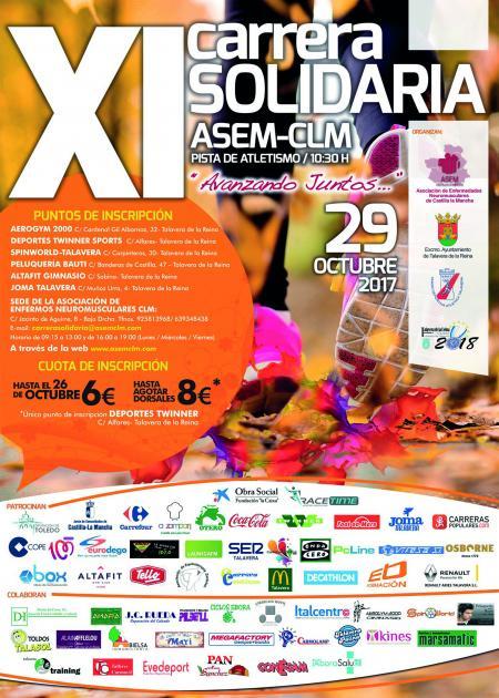 XI Carrera Solidaria ASEM-CLM