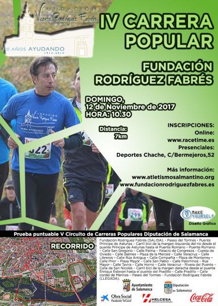 IV Carrera Popular Fundación Rodríguez Fabrés