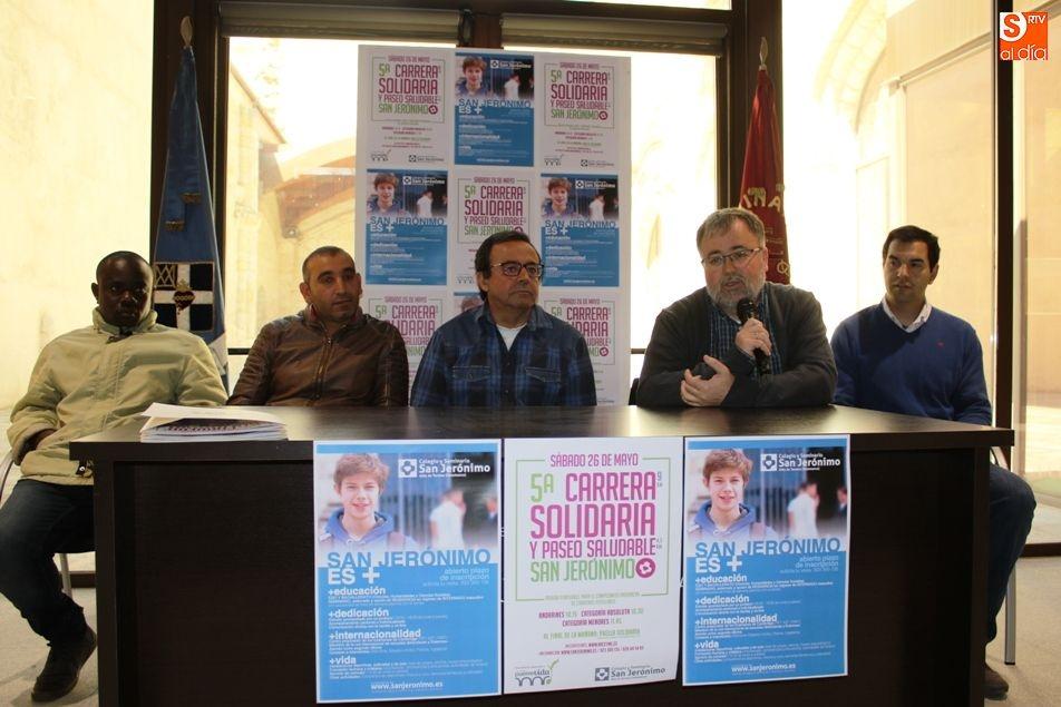 La carrera solidaria y el paseo saludable de San Jerónimo recaudarán fondos para Puente Vida