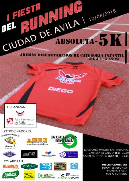 I Fiestas del Running Ciudad de Avila