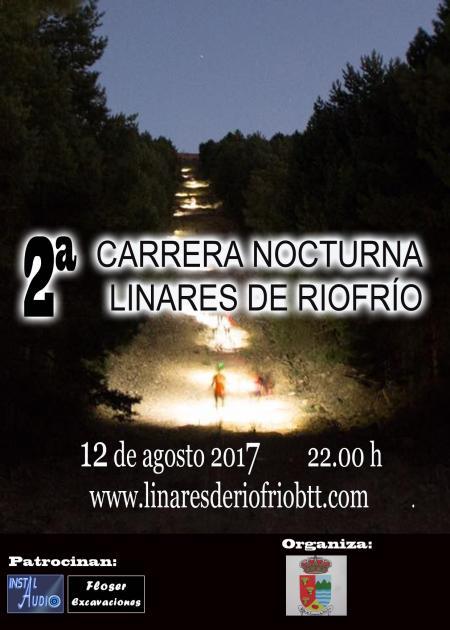 2ª Carrera Nocturna Linares de Riofrio