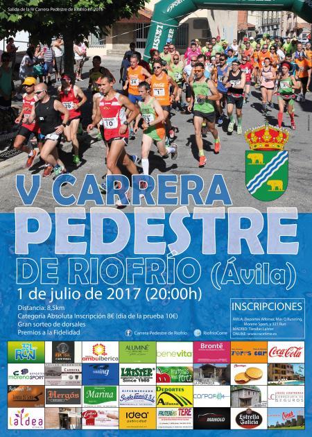 V Carrera Pedestre de Riofrio