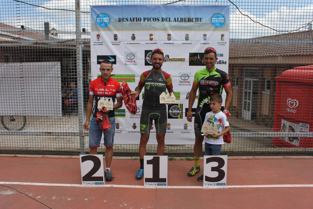 Paco Mancebo estrena el palmarés del Desafío Picos del Alberche