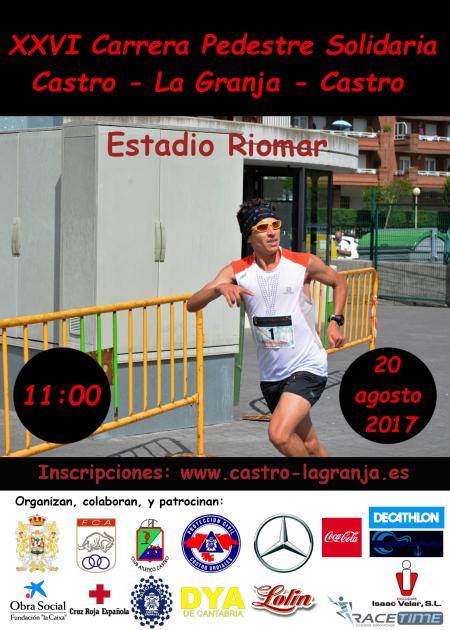 XXVI Carrera Pedestre Solidaria Castro-La Granja- Castro