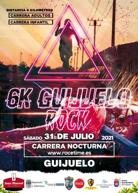 Carrera Nocturna 6K Guijuelo Rock