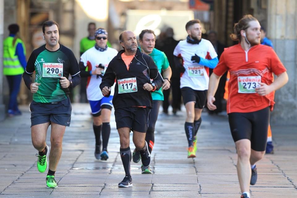 Cuatrocientos corredores en la carrera Fundación Rodríguez Fabrés